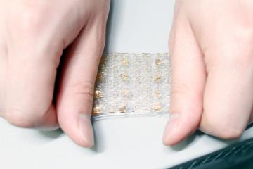 Artificial skin for prosthetic. Photo credit IFLScience.